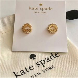 Kate Spade signature crystal studs
